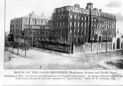 House of the Good Shepherd, home to Agnes Murray in 1920.