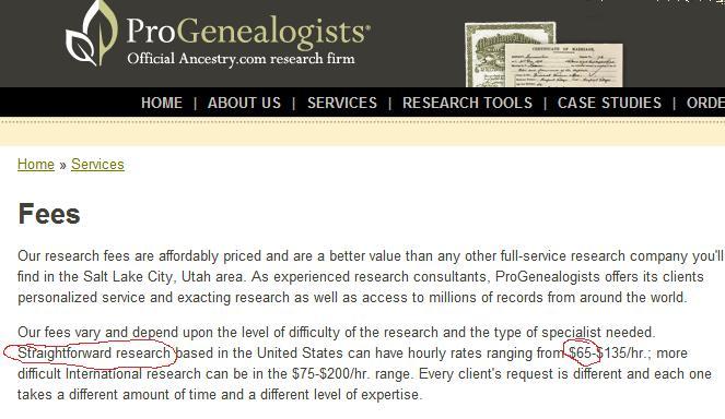 Ancestry.com's Service