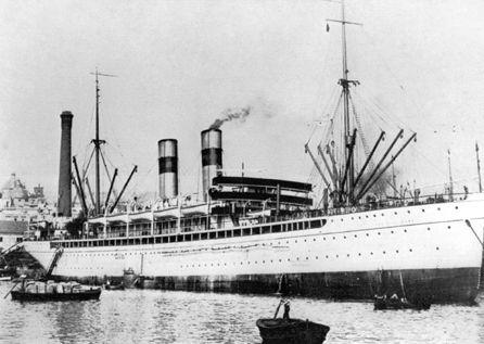 Italian Immigrant ship