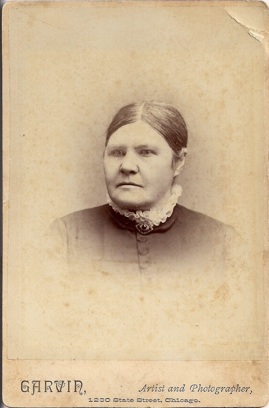 My 2nd Great Grandmother Isabelle Laing Mitchell in 1883 30 years after arrival in America