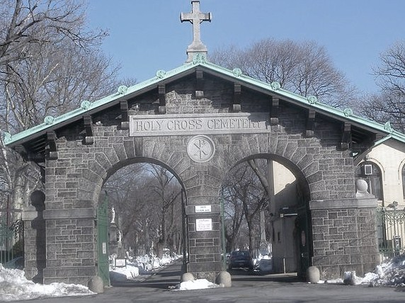 Holy Cross Cemetery in Brooklyn, New York